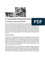 Construction Pricing and Contracting