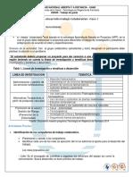 Guía Actividad FaseI Grupal