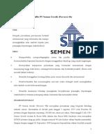 Profile PT Semen Gresik