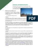 Economía Del Continente Europeo, España y Sus Principales Exportaciones y Grupo de Productos