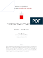 Physics of Manhattan Project