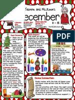 December 11-15 Santa Letter L Newsletter