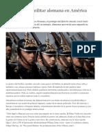 [2016] La Influencia Militar Alemana en América Latina - DW