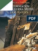 La Formacion de La Tierra Media - J. R. R. Tolkien
