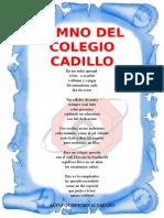 Himno Al Colegio Cadillo 25