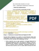 Anexa POR - Axa Prioritara 1 - Mecanism de Implementare