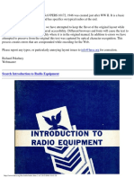 US Navy Inrto to Radio Equipment WW.(Incomplete)