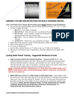 capital multisport - spring 2013 build training cycling workouts