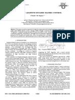 [2008 Ifac Conf] Intelligent Adaptive Dynamic Matrix Control
