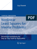 (Scientific Computation) Guy Chavent-Nonlinear Least Squares for Inverse Problems_ Theoretical Foundatio~0