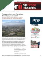 Plan Urbano Tiabaya - Perú Sin Riesgo de Desastres