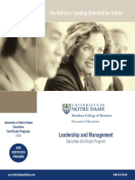 Study Guide & Syllabus_executive in Leadership and Management
