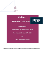 ARIMNet2 Call Text