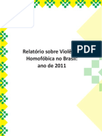 Relatorio Violencia Homofobica 2011-2