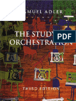 Samuel Adler - The Study of Orchestration (2002)