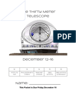 thirty meter telescope packet