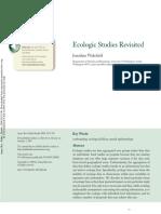 Ecologic Studies Revisited