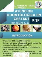 Atencion a gestantes en odontologia