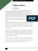 Informe de Cambio cabioClimatico