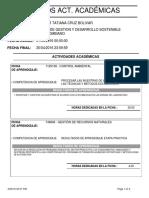 Informe Actividades Academicas[1]