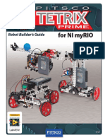 Builders Guide Pitsco TETRIX PRIME MyRIO