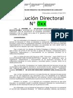 RD Modelo Municipio Escolar 2016