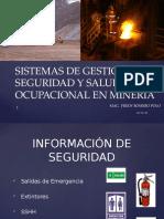 1ra Conferencia Grupo de Seguridad - Sistemas de Gestión en SSO