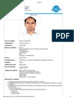 Aol Admit Card