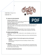 Lesson Plan 3 Charlotte's Web