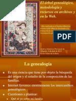 El arbol genealogico, metodología y recursos en archivos y en la Web, por Elvira Valero de la Rosa, coleccion Alvarado-davila