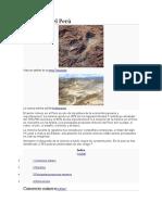 Minería en El Perú