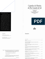 GRIJÓ, Luiz Alberto et al. Capítulos de história do Rio Grande do Sul