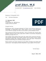Contoh Kop Surat Lamaran Kerja 1