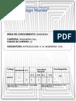 Introduccion a La Ingenieria Civil.
