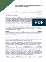 Decreto 2414-Actividades Molestas....