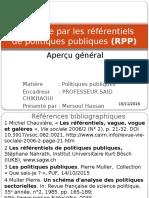Approche Par Les Référentiels de Politiques Publiques (RPP)