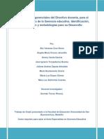 Competencias Gerenciales Directivo Zapata 2011