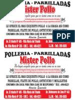 Mister Pollo Almanaque 2017 Prueba