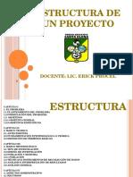 Estructura de Un Proyecto Secillo