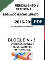 Bloque 3.-Generación Estrategias II