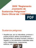 REGLAMENTO SQP 78 Almacenamiento Sust Peligrosas