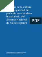 Analisis Cultura SP Ambito Hospitalario