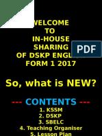DSKP Form 1