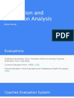 supervision and evaluation analysis haines