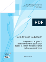 Tierra Territorio y Educacion