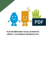 Plan de Mercadeo Social de Lavado de Manos (Correg)