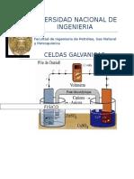 Informe de Celdas Galvanicas