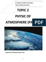 Reference Note - Topic 2 Physic of Atmosphere (Part 2)