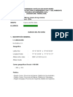 Informe Cuenca Sañu