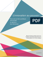 2015 Rapport Innovation Territoriale